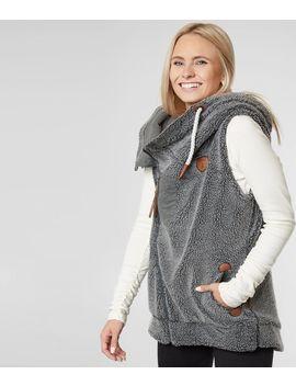 Kira Sherpa Hooded Vest by Wanakome