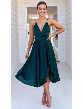 Annalisa Dress   Emerald by Billy J.