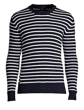 Striped Knit Sweater by Paul & Shark