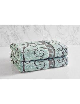 Loft By Loftex Como Wave Cotton Bath Towel by Loft By Loftex