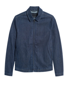 Japan Exclusive Denim Coach's Jacket by Banana Repbulic