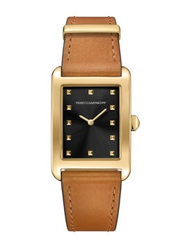 Women's Moment Leather Strap Watch, 27mm X 39mm by Rebecca Minkoff