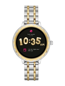 Scallop Two Tone Touchscreen Bracelet Smart Watch, 41mm by Kate Spade New York