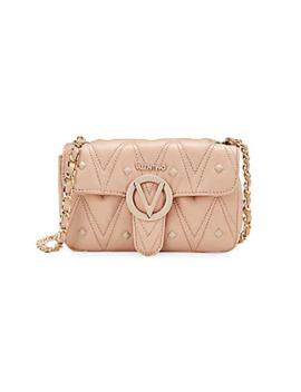 Poisson Studded & Quilted Leather Crossbody Bag by Valentino By Mario Valentino