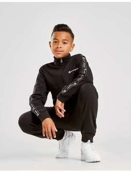 Champion Tape Fleece Tracksuit by Jd Sports