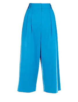Bianca Stretch Cotton Culottes by Tibi