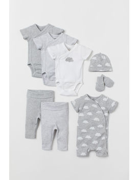 8 Piece Jersey Set by H&M