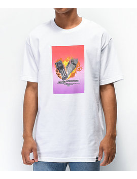 Scum Burners White T Shirt by Rat Boy