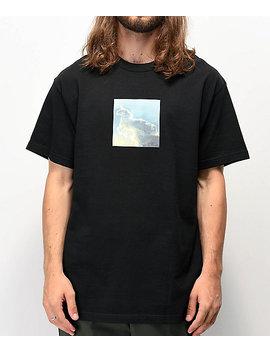 Freshhell Unicorn Black T Shirt by Freshhell