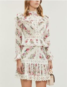 Honour Floral Patterned Cotton Top by Zimmermann
