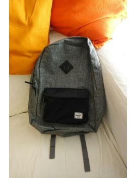 Herschel Supply Co. Heritage Backpack   Raven Crosshatch by Ebay Seller