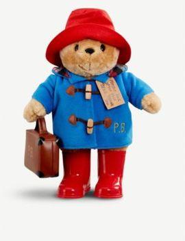 Paddington With Boots And Suitcase by Paddington Bear