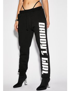 Daddy's Grl Reflective Joggers by Poster Grl