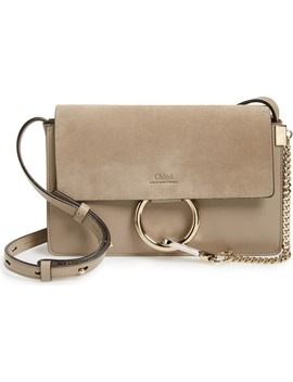 Small Faye Leather Shoulder Bag by ChloÉ