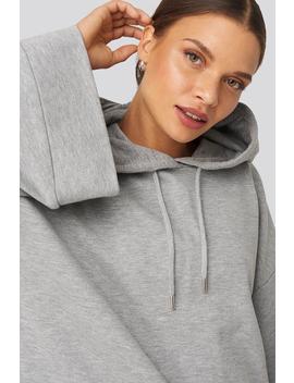 Flare Sleeve Hoodie Grey by Na Kd
