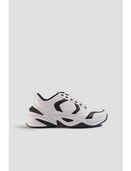 Street Chunky Sneaker Blanc by Emiliebritingxnakd