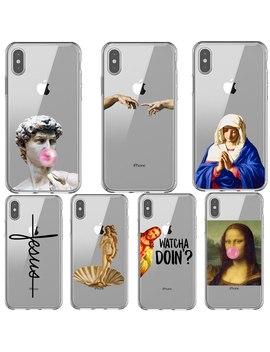 Funda Con Diseño De Estatua Alternativa Divertida De Nacimiento De Venus Mona Lisa Para I Phone 11 Pro Max 2019 Xs Xr Xs Max 5 S Se 6 6 S 7 8 Plus by Ali Express.Com