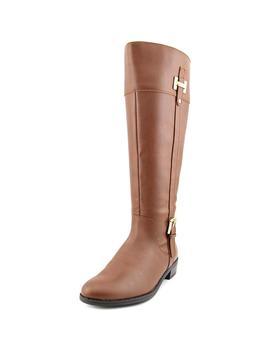 Karen Scott Deliee Wide Calf Women  Round Toe Synthetic Brown Knee High Boot by Karen Scott
