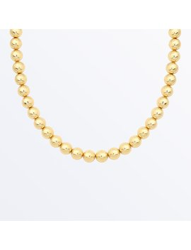 Gold Ball Necklace     Aurora              Regular Price      €‌92 by Ana Luisa