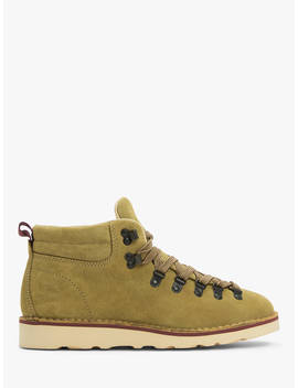 John Lewis & Partners Definitive Suede Hiker Boots, Pumpkin by John Lewis & Partners