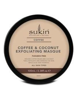 Sukin Coffee And Coconut Exfoliating Masque 100ml by Skin Care