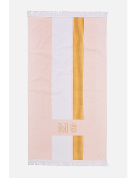 Personalised Bondi Rectangle Towel by Cotton On