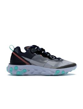 Nike React Element 87 Black Neptune Green by Stock X