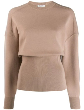 Voluminous Crew Neck Sweater by Acne Studios