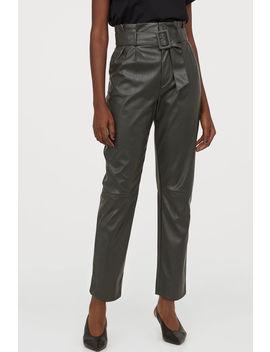 Панталон до глезена с колан by H&M