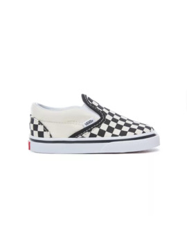 Toddler Checkerboard Slip On Shoes by Vans