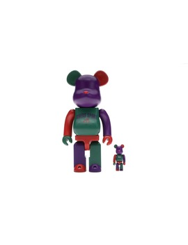Bearbrick Guess Sport Logo 100% & 400% Multi by Stock X