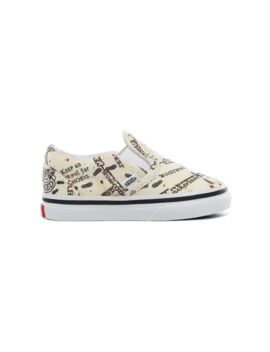 Toddler Vans X Harry Potter™ Marauders Map Slip On Shoes (1 4 Years) by Vans