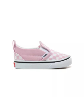 Toddler Checkerboard Slip On V Shoes (1 4 Years) by Vans