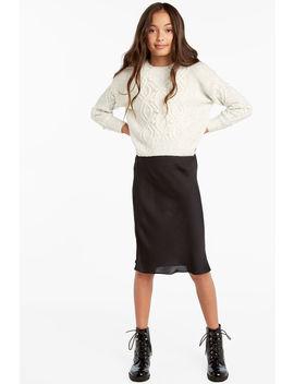 Mayah Bias Midi Skirt by Bardot