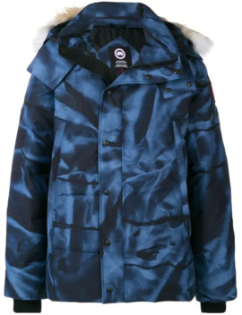 Printed Hooded Jacket by Canada Goose