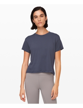 Train To Be Short Sleeve by Lululemon