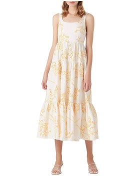 Mimosa Broderie Day Dress by Aje