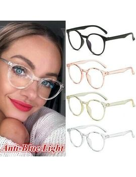 Blue Light Blocking Filter Glasses Anti Eyestrain Decorative Computer Spectacles by Unbranded