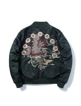 <Span><Span>Men's Embroidery Souvenir Bomber Jacket Zipper Japanese Yokosuka Baseball Thick</Span></Span> by Ebay Seller