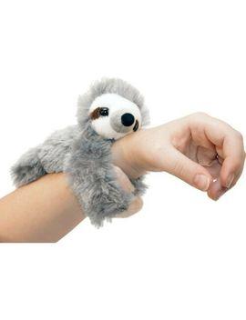 Huggers Plush Sloth Slap Bracelet Stuffed Animal Toy By Wild Republic by Wild Republic