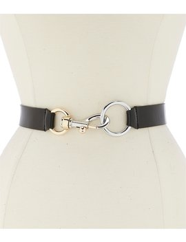 "1.25"" Kali D Ring Belt by Rebecca Minkoff"