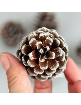 9/18pcs Christmas Pine Cones Xmas Tree Hanging Ornament Xmas Decorations E6 by Unbranded