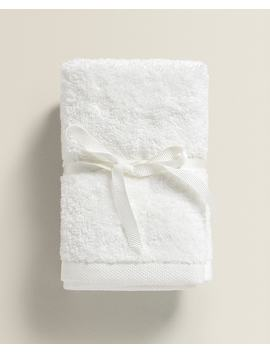 Premium Quality Cotton Towel (Pack Of 3) Towels   Bathroom by Zara Home