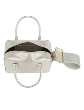 Cool Box Leather Satchel by Delvaux