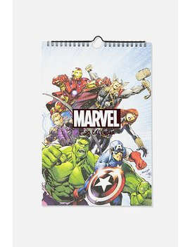 2020 Marvel Get A Date Calendar by Cotton On