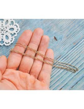 Vintage Nos Gold Plated 925 Sterling Silver Chain. by Etsy
