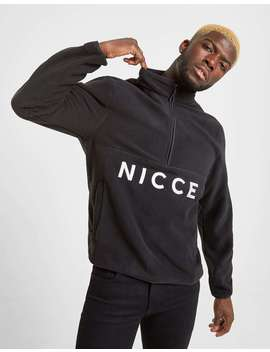 Nicce Corto Polar Fleece Sweatshirt by Jd Sports