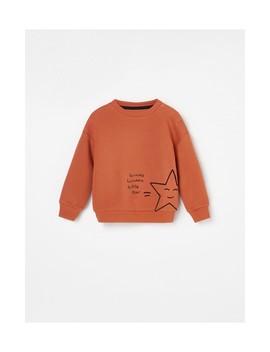 Ocieplana Bluza Z Minimalistycznym Nadrukiem by Reserved