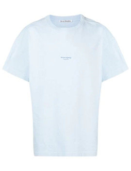 T Shirt Im Oversized Look by Acne Studios
