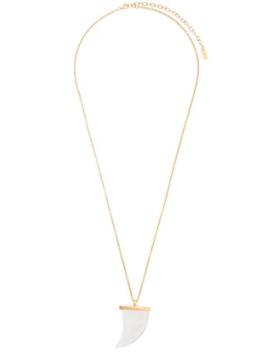 Horn Pendant Necklace by Saint Laurent